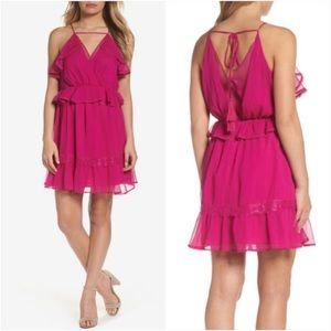 Adelyn Rae Ruffle Mini Dress